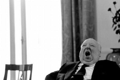 Andrés Toledo duerme como el bostezo de Hitchcock