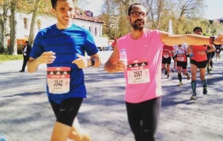Maratón de Madrid: 3:29h