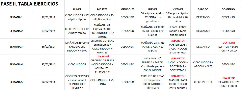 Ejercicios para reducción de peso y tonificación de Andrés Toledo